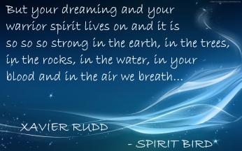 songtekst banner 1 Spirit Bird - Xavier Rudd
