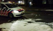 Sneeuwbui in hartje zomer & vreemde substantie op straat